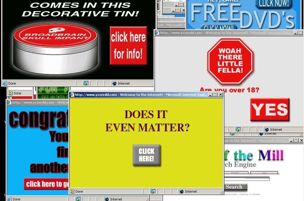 Pop ups y anuncios de vídeo que se reproducen automáticamente frustran a los usuarios online
