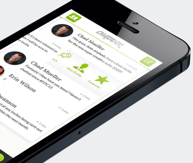 Chadder – Una nueva aplicación para mandar mensajes instantáneos con total seguridad