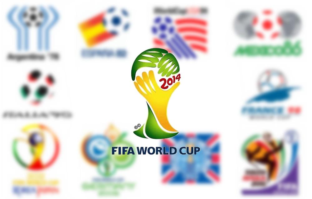 Los Logos en la historia de las Copas del Mundo FIFA
