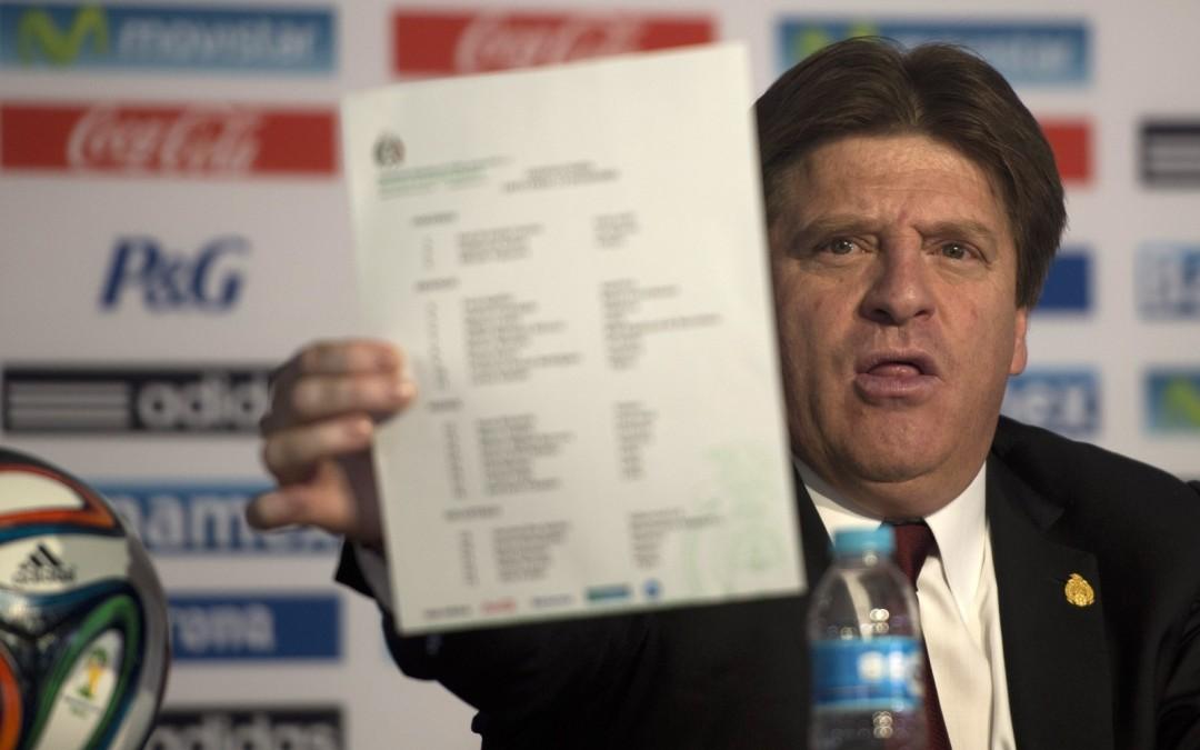 Miguel Herrera completa la lista a 30 por requisito de FIFA