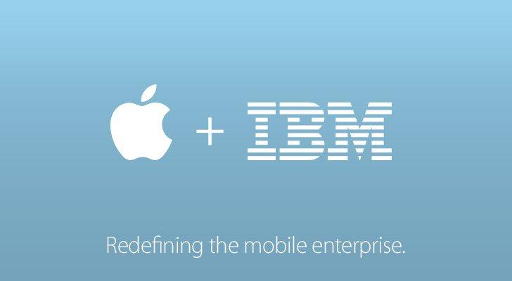 Apple e IBM firman alianza para crear nuevas aplicaciones