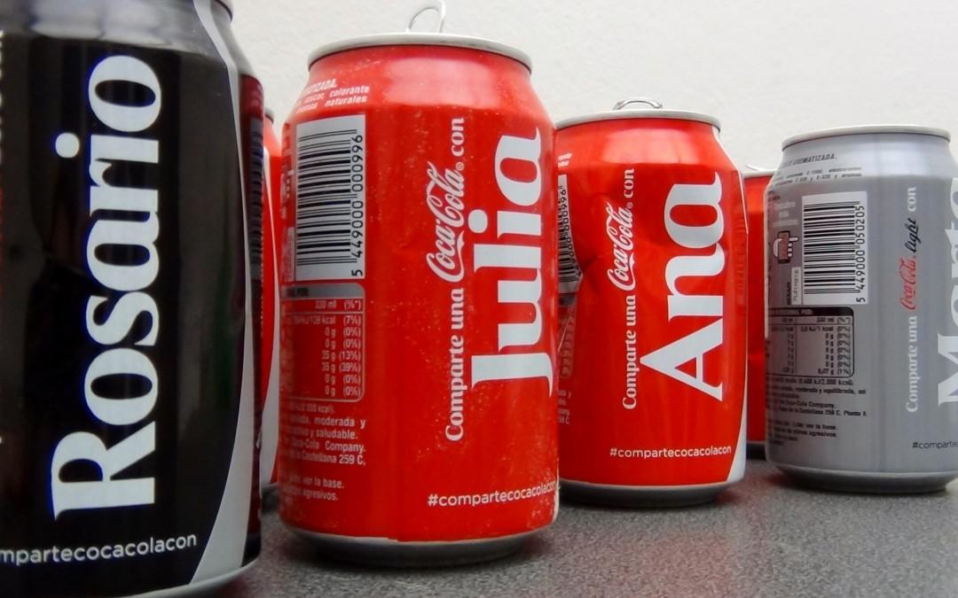 Te Damos Los 488 NOMBRES Que Aparecen En Las Latas De Coca-Cola. ¿Está El Tuyo?