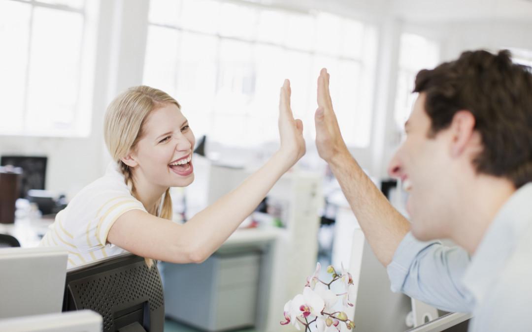 5 tips para ser más feliz en el trabajo