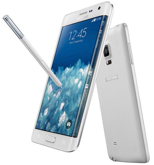 Samsung estrena el nuevo Galaxy Note de 5,7 pulgadas y Note Edge, su primer smartphone con pantalla curvada