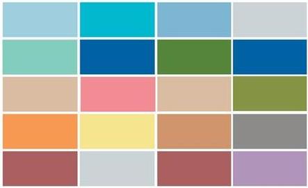 Cuáles serán los colores de moda para el 2015?