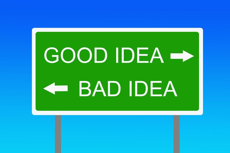 3 consejos para que las malas ideas evolucionen a buenas