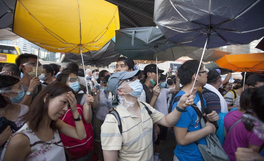 5 claves sobre la 'Revolución de los Paraguas' en Hong Kong