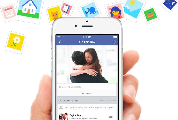 "Facebook lleva a la nostalgia con ""Un día como hoy"""