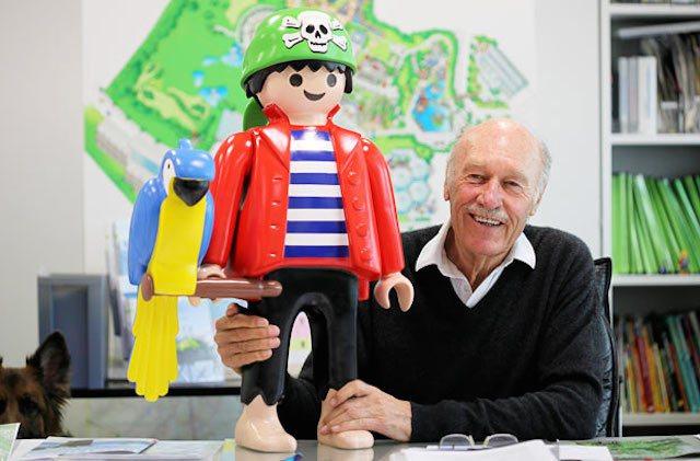 Murió Horst Brandstätter, creador de los Playmobil
