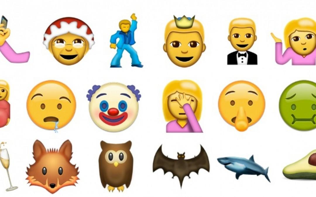 Nuevo emojis llegarán muy pronto a nuestros smartphones