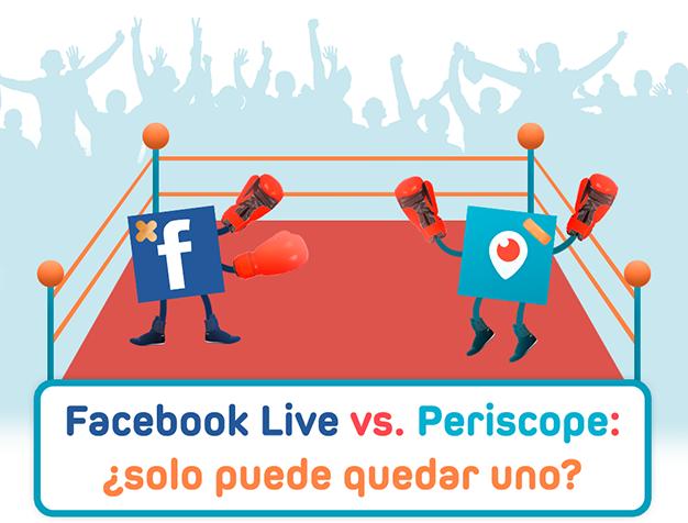 Periscope vs. Facebook Live: ¿Quién reinará en el mundo del streaming?