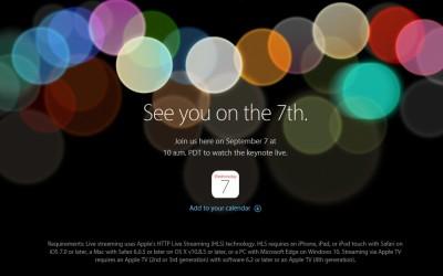 ¿Qué podemos esperar en la presentación mañana 7 de Septiembre de Apple?